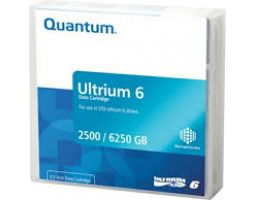 Quantum MR-L6MQN-02 LTO Ultrium 6 Tape Cartridge (2.5/6.25TB WORM (BaFe))