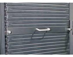 APC AR8136BLK 1U 19 Black Modular Toolless Airflow Management Blanking Panel