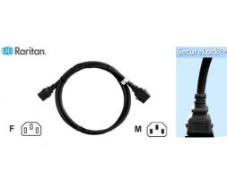 Raritan SLC14C13-1.0M-6PK SecureLock Locking Cable