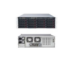 Supermicro E5-2600 + C600 Series based DP Xeon 3U 6037R-E1R16N Rackmount SuperServer