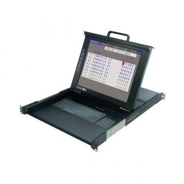 Minicom/TRIPP-LITE 0SU52091 SmartRack 116, Rackmount LCD W/ 16 Port CAT5 KVM Switch