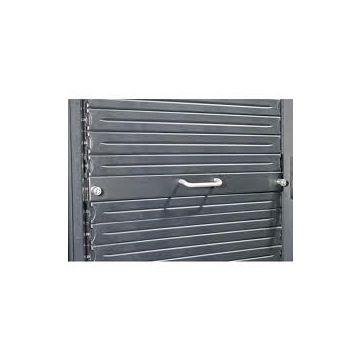 APC AR8136BLK200 1U 19 Black Modular Toolless Airflow Management Blanking Panel