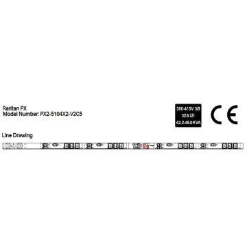 Raritan PX2-5104X2-V2C5 iPDU
