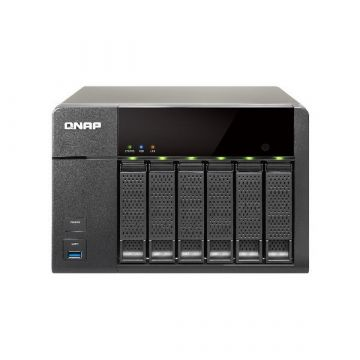 Qnap TS-651 High Performance NAS with On-the-fly & offline Video Transcoding