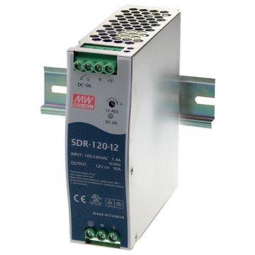 Black Box SDR-120-12 DIN Rail Power Supply