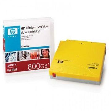 HP C7973W LTO-3 Backup WORM Tape Cartridge (400GB/800GB) Retail Pack