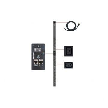 Cyber Power PDU20SWVHVT24FNET 24-Outlet 0U Rack Mount Switched Pdu