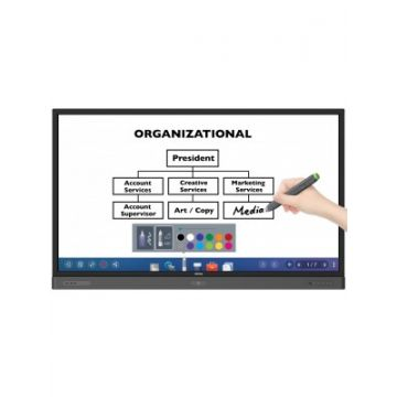 BenQ RP860K 4K UHD 86'' Corporate Interactive Flat Panel Touch Display
